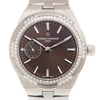 Купить часы Vacheron Constantin Overseas Stainless Steel & Diamonds Brown Automatic 2305V/100A-B171  в ломбарде швейцарских часов