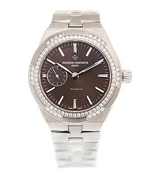 Vacheron Constantin Overseas Stainless Steel & Diamonds Brown Automatic 2305V/100A-B171
