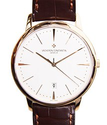 Vacheron Constantin Patrimony Traditionelle 18kt Rose Gold Silvery & White Automatic 85180/000R-9248
