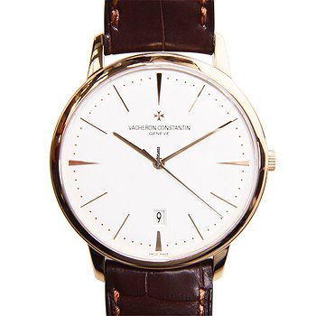 Купить часы Vacheron Constantin Patrimony Traditionelle 18kt Rose Gold Silvery & White Automatic 85180/000R-9248  в ломбарде швейцарских часов