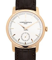 Vacheron Constantin Traditionnelle 18kt Rose Gold White Manual Wind 82172/000R-9382