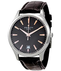Zenith Captain Brown Dial Brown Leather Strap Automatic Men's Watch 03206067076C498