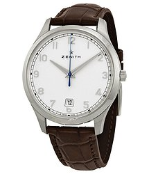 Zenith Captain Central Seconds Silver Dial Automatic Men's Watch