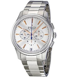 Zenith Captain Chronograph Silver Dial Automatic Men's Watch 03211040001M2110