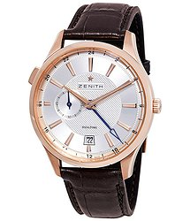 Zenith Captain Dual Time Automatic 18kt Rose Gold Men's Watch