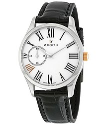Zenith Captain Ultra Thin Automatic Ladies Watch 03230268133C714