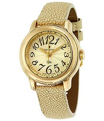 Zenith Chronomaster 18K Gold Automatic Ladies Watch 3512206741C536