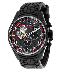 Zenith Chronomaster Bullit Chronograph Black Dial Men's Watch 242160406328R515