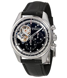 Zenith Chronomaster El Primero Automatic Chronograph Black Dial Men's Watch