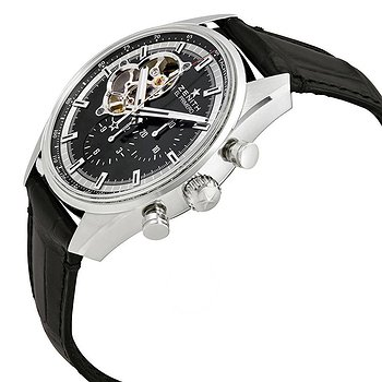 Купить часы Zenith Chronomaster El Primero Automatic Chronograph Black Dial Men's Watch  в ломбарде швейцарских часов
