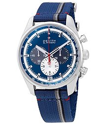 Zenith Chronomaster El Primero Blue Sunray Dial Men's Chronograph Watch