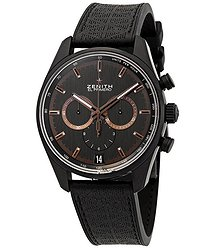 Zenith Chronomaster El Primero Chronograph Automatic Black Dial Men's Watch