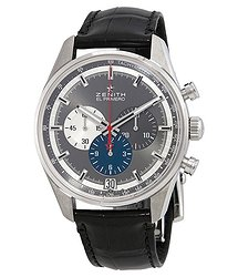 Zenith Chronomaster El Primero Chronograph Automatic Grey Dial Men's Watch