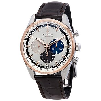 Купить часы Zenith Chronomaster El Primero Chronograph Automatic Silver Dial Men's Watch  в ломбарде швейцарских часов