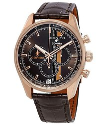 Zenith Chronomaster El Primero LEGEND OF COHIBA 18kt Rose Gold Men's Watch