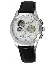 Zenith Class Open Chronograph Stainless Steel Men's Watch