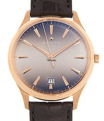 Zenith Commander 18kt Rose Gold Brown Automatic 18.2020.670/22.C498