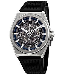 Zenith Defy Classic Automatic Skeletal Dial Titanium Men's Watch