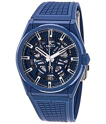 Zenith DEFY Classic Blue Skeleton Dial Automatic Men's Watch