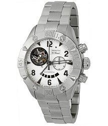 Zenith Defy Classic Open Stainless Steel Men's Watch