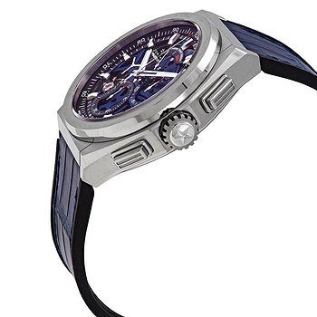 Купить часы Zenith Defy El Primero 21 Chronograph Automatic Blue Skeletal Dial Titanium Men's Watch  в ломбарде швейцарских часов