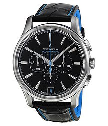 Zenith El Primero Automatic Chronograph Black Dial Men's Watch