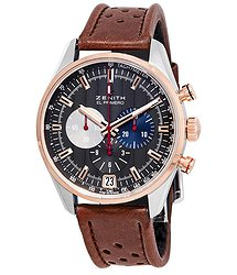 Zenith El Primero Chronograph Automatic Grey Dial Men's Watch