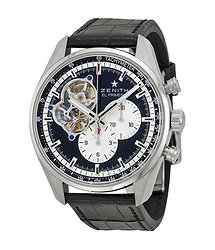 Zenith El Primero Chronomaster 1969 Boutique Edition Black Dial Black Leather Men's Watch 03.2042.4061-21.C496