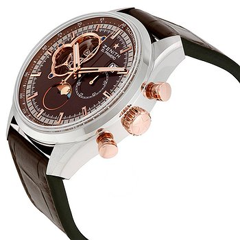 Купить часы Zenith El Primero Chronomaster Automatic Brown Dial Brown Leather Men's Watch  в ломбарде швейцарских часов