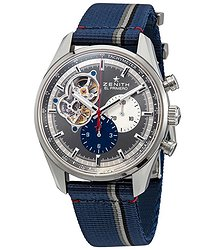 Zenith El Primero Chronomaster Automatic Open-Heart Anthracite Dial Men's Watch