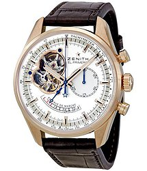 Zenith El Primero Chronomaster Open Rose Gold Automatic Men's Watch 182080402101C494