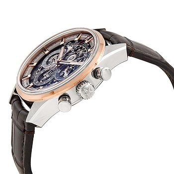 Купить часы Zenith El Primero Chronomaster Stainless Steel & Rose Gold Automatic Skeletal Dial Men's Watch  в ломбарде швейцарских часов