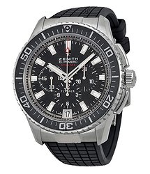 Zenith El Primero Flyback Automatic Black Dial Men's Watch