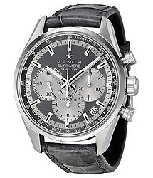 Zenith El Primero Grey Dial Chronograph Automatic Ladies Watch 03215040021C706