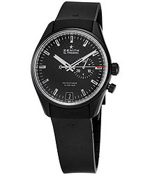 Zenith El Primero Retrotimer Black Carbonfiber Chronograph Men's Watch
