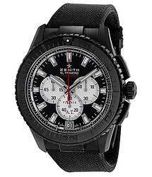Zenith EL Primero Stratos Flyback Automatic Chronograph Black Alchron Men's Watch