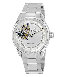 Zenith El Primero Synopsis Silver Dial Stainless Steel Automatic Men's Watch