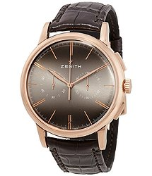 Zenith Elite 18kt Rose Gold Chronograph Automatic Men's Watch