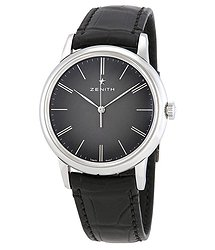 Zenith Elite Automatic Black Dial Men's Watch