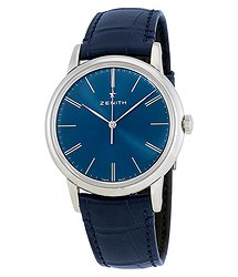 Zenith Elite Automatic Blue Dial Men's Watch