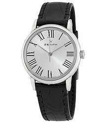 Zenith Elite Automatic Silver Dial Ladies Watch