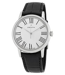 Zenith Elite Automatic Silver Dial Men's Watch