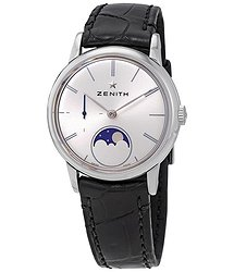 Zenith Elite Lady Automatic Moonbphase Silver Dial Ladies Watch