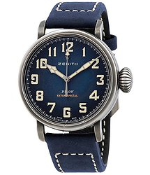 Zenith Pilot Automatic Blue Dial Men's Watch