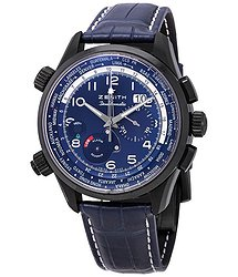 Zenith Pilot Doublematic Blue Dial Automatic Men's Watch