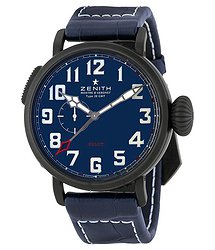 Zenith Pilot Montre d'Aeronef Type 20 Automatic Men's GMT Watch