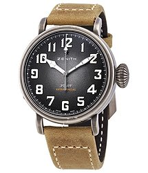 Zenith Pilot Type 20 Automatic Grey Grained Dial Men's Watch