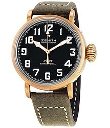 Zenith Pilot Type 20 Extra Special Bronze Automatic Matt Black Dial Men's Watch