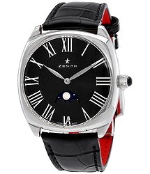 Zenith Star Moonphase Automatic Anthracite Dial Ladies Watch 03192569221C714